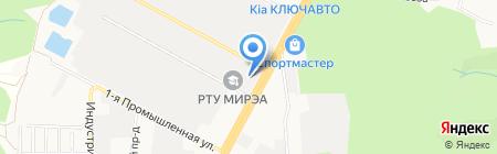 ГИНЭКС на карте Ставрополя