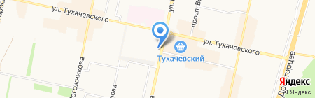 Сетелем Банк на карте Ставрополя