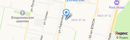 Мастерская по ремонту мобильных телефонов на ул. Пирогова на карте Ставрополя