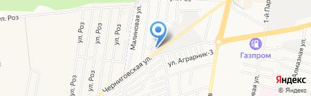 Высь на карте Ставрополя