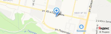 Пластстройзаказ на карте Ставрополя