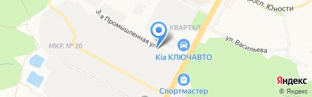 Созвездие на карте Ставрополя