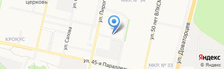Дером групп на карте Ставрополя