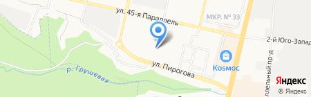 Центр 7 на карте Ставрополя