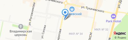 ТЕПЛОТЕХНИКА на карте Ставрополя