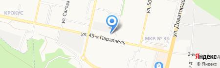 Щукарь на карте Ставрополя