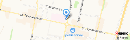 URARTU на карте Ставрополя