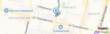 Маршрут26 на карте Ставрополя