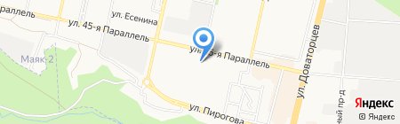 Маляр плюс на карте Ставрополя
