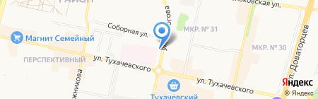 ТОКС на карте Ставрополя