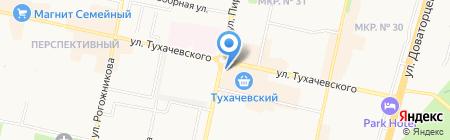 Мебельный салон на карте Ставрополя