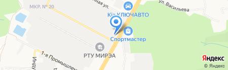 Ставтеплоком на карте Ставрополя