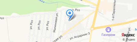 Управление механизации строительства на карте Ставрополя