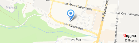 Имидж клуб на карте Ставрополя