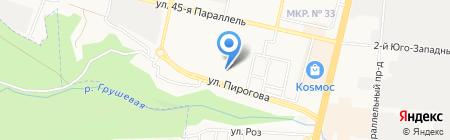 Малая Лаборатория на карте Ставрополя