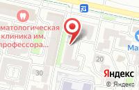 Схема проезда до компании Пояс Ориона в Ставрополе