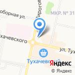 Tandem-popart на карте Ставрополя