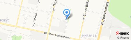 Хлебный аромат на карте Ставрополя