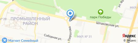ШАТИМ ТРЕЙД на карте Ставрополя