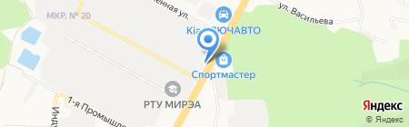 Decore на карте Ставрополя