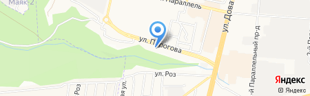 Фактор на карте Ставрополя