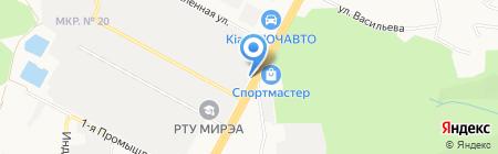 БИМ-Нефтепродукт на карте Ставрополя