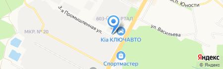 Седьмая скорость на карте Ставрополя