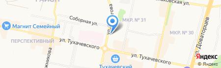 Домостроитель на карте Ставрополя