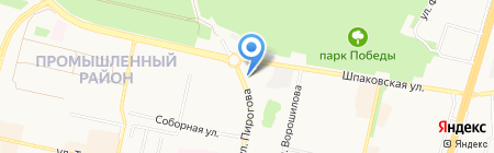ПЯТАЯ ПЕРЕДАЧА Ставрополь на карте Ставрополя