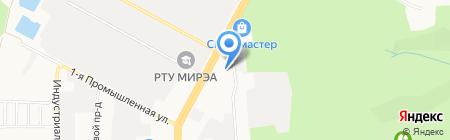 Вектор-Юг на карте Ставрополя