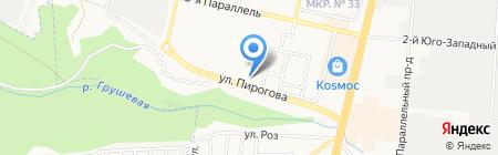 АЛЬФА-ЮГ на карте Ставрополя