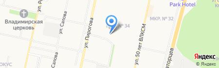 Инь Ян на карте Ставрополя