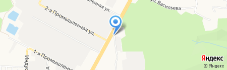 Пикап на карте Ставрополя