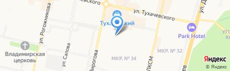 Блок-26 на карте Ставрополя