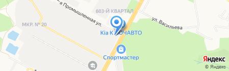 Броско на карте Ставрополя