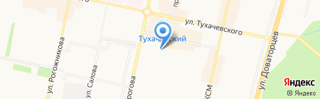 Градус на карте Ставрополя