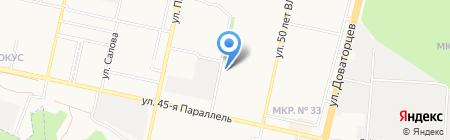 Хмельнофф на карте Ставрополя