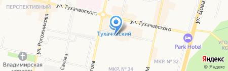 Медмаркет на карте Ставрополя