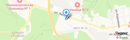 ДИНАСТИЯ на карте Ставрополя