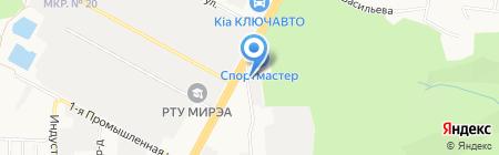 Салон ритуальных услуг на карте Ставрополя