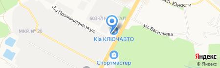 Изба на карте Ставрополя