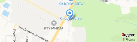 Chisto на карте Ставрополя