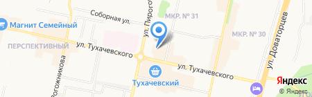 Атторней на карте Ставрополя