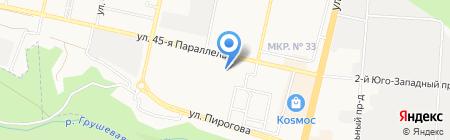 Идеал на карте Ставрополя