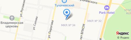 Аполония на карте Ставрополя