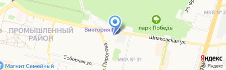 Лилук на карте Ставрополя