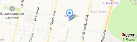 АРХПРОЕКТ на карте Ставрополя