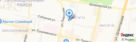 Детский сад №72 на карте Ставрополя