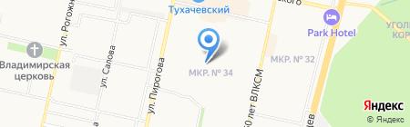 Краевой центр социального обслуживания граждан пожилого возраста и инвалидов на карте Ставрополя