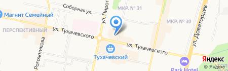 Банкомат СМП Банк на карте Ставрополя